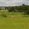 A view from a tee at Howley Hall Golf Club.