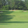 A view of the 1st hole at Southern Pines Golf Club