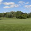 A view of a hole at Maple Lane Golf Club.
