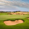 A view of a hole at The Sandbox from Sand Valley Golf Resort.