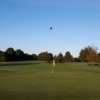 A sunny day view of a hole at Little Hay Golf Club.