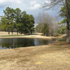 A view of hole #11 at Denson's Creek Golf Course