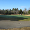 A view of the putting green at Denson's Creek Golf Course