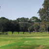 A view from a tee at Rolling Green Golf Club.