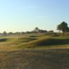 A view of a hole at Oak Harbor Golf Club.