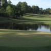 A view of a hole at Woodlands Country Club.
