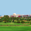A view of a green at Les Acacias Course from Djerba Golf Club.