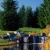 A view over the water from Indian Summer Golf & Country Club.