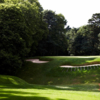 A view of the 6th hole at Duke's Course from Woburn Golf & Country Club.