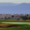 A view of hole #16 at Marrakech Golf City.