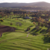 Aerial view of the 9th and 10th holes at Aboyne Golf Club