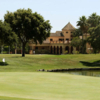 A view of a green at The Old Course from San Roque Club.