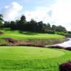A view of tee #2 at Ocean Course from Ria Bintan Golf Club.