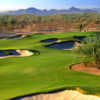 A view of the 16th hole at Faldo from Wildfire Golf Club at Desert Ridge Resort