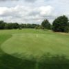 A view of the 8th green at Walton Hall Golf Club.