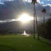 A sunny day view from La Quinta Country Club.