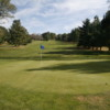 A view of a green at Blacksburg Golf Course.