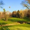 A sunny day view from Conestoga Country Club.