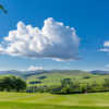 A view from Peebles Golf Club