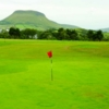 View from a green at Cushendall Golf Club