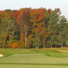 A fall day view of a hole at Tavistock Country Club.