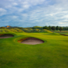 View of the 9th green at Arklow Golf Club