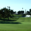 A view of a fairway at Palm Desert Greens Country Club.