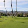 A sunny day view from Omni Rancho Las Palmas Resort.