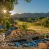 A sunny day view from Sand Canyon Country Club.