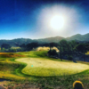 A view of a green at Sand Canyon Country Club.