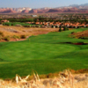 A view of a hole at Sunbrook Golf Club.