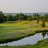 A view of a green at Fredericton Golf Club.