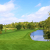 A sunny day view of a fairway at Bayview Country Club.