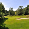 A view of the 13th hole at Woodsome Hall Golf Club.