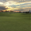 View from a green at Tiger Point Golf Club