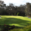 A view of a hole at Pennant Hills Golf Club.
