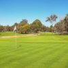 A sunny day view of a hole at Woolooware Golf Club.