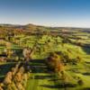 Aerial view from Crieff Golf Club.