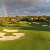 A view of the 1st hole at Mizner Country Club.