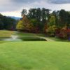 A view of hole #18 at Gatlinburg Golf Course.