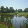 View of the 1st green at Drayton Park Golf Club
