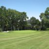 A view of a hole at Castlewood Country Club.