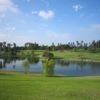 A view over the water from La Mirada Golf Club.
