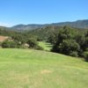 A view of tee #5 at Ojai Valley Inn & Spa.