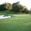 A view of a green at Woodland Hills Country Club.