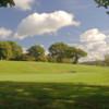 View of a green at Tredegar Park Golf Club