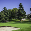 A view of a green at Harbor Park Golf Course.