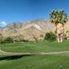 A view from the 11th tee at South Course from Indian Canyons Golf Resort.