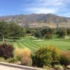 A view of a green at Oakridge Country Club (Tatanka Historical Associates Inc).