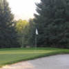 A view of a hole at Hidden Valley Country Club.